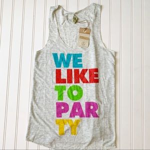 Beyoncé Alternative we like to party tank top